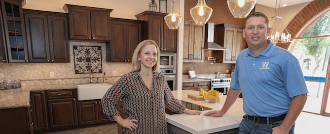 Ahwatukee family-owned remodeling business Weeks and Mitchell New Design Center Showroom