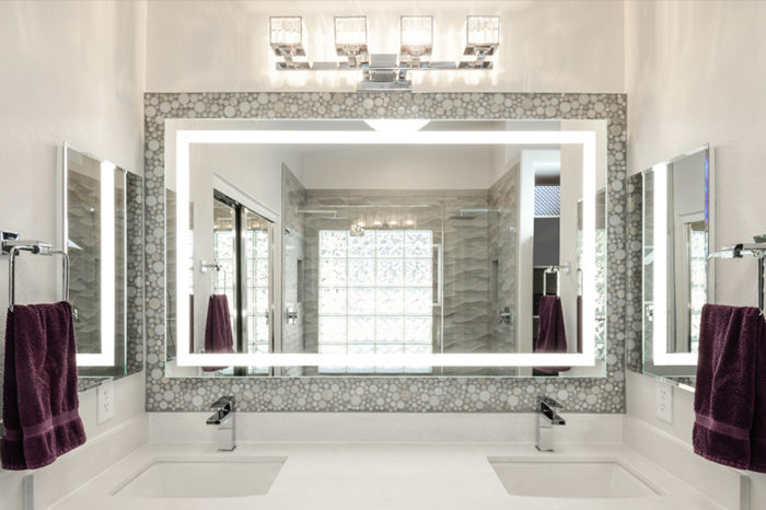 modern bathroom design by Weeks and Mitchell Bathroom Remodeling Company in Ahwatukee