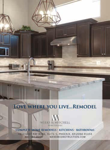 Love Where You Live...Remodel. Complete Home Remodels. Kitchen Remodels. Bathroom Remodels Ahwatukee