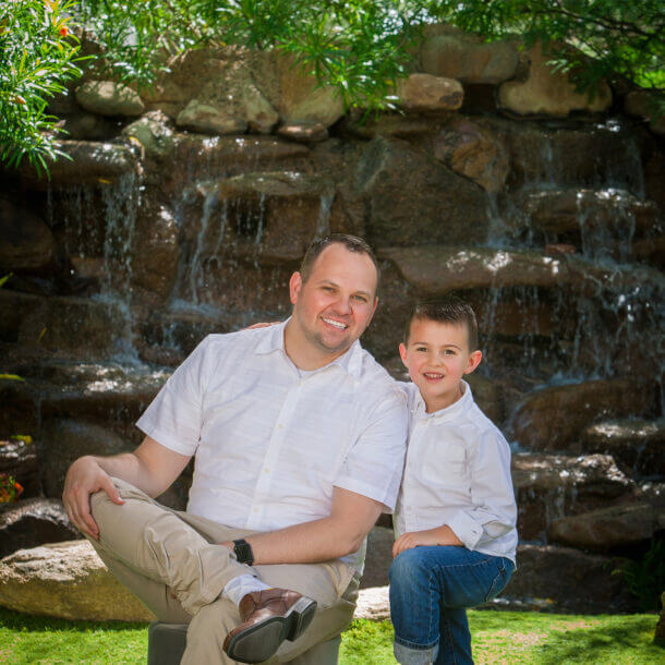 Principal Interior Designer for Weeks and Mitchell Home Remodeling in Ahwatukee - Jason and His Family