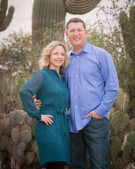 Holly and Kevin Mitchell Owners of Weeks and Mitchell Remodeling Company in Phoenix, AZ