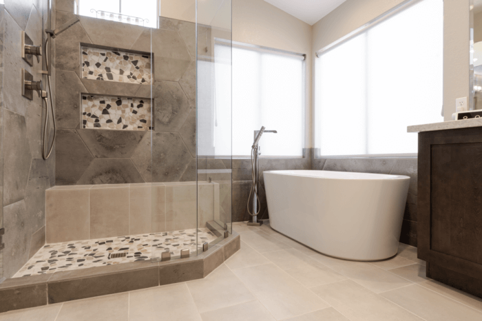 Spa like bathroom Remodel Ahwatukee Home Remodeling