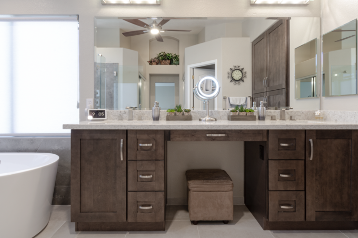 Bathroom Countertops and duel sinks