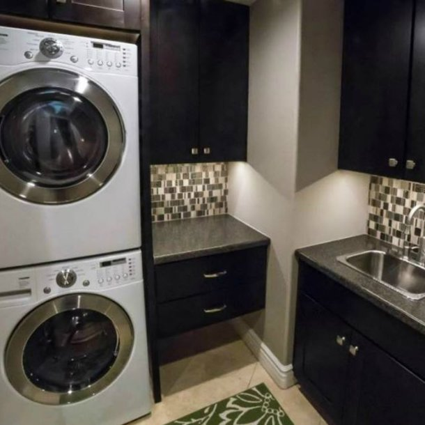 Laundry Room Remodel Ahwatukee Chandler AZ Weeks and Mitchell