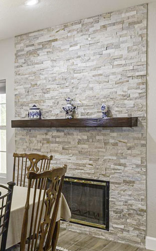 Stone Accent Remodeling Ideas Weeks and Mitchell Home Remodeling Phoenix AZ